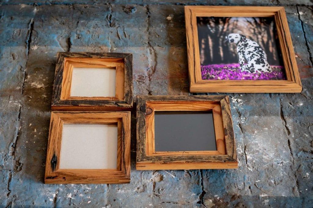 Holzbilderrahmen Handarbeit