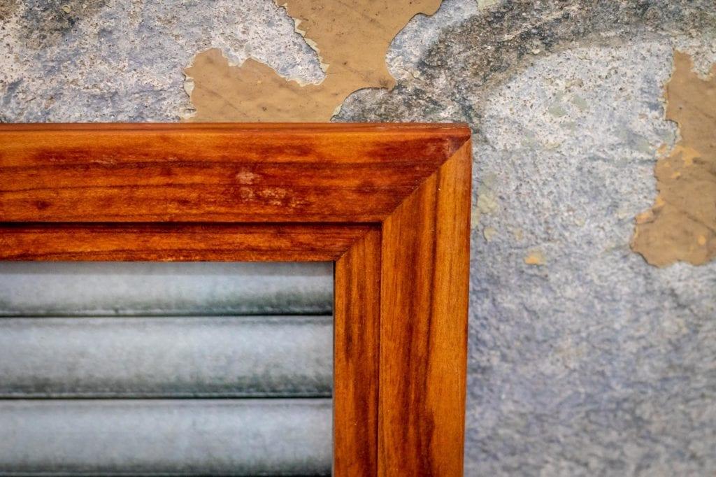 Holzbilderrahmen im Detail